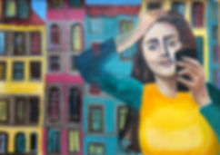 Selfie Acrylique