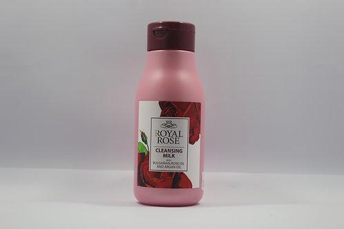 Lait nettoyant démaquillant Royal rose