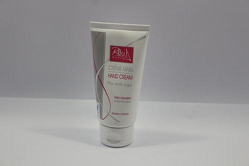 Crème mains anti age à l'eau de rose