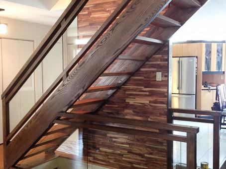 Escalier contemporain terminé!