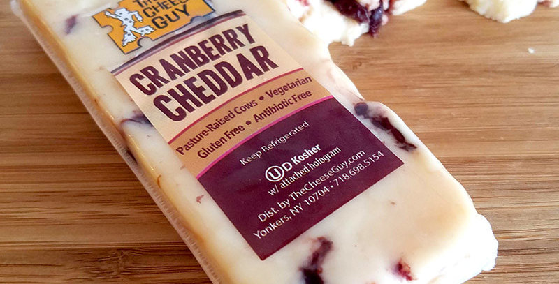 Cheese Guy Cranberry Cheddar