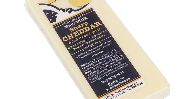 Cheese Guy Raw Milk Sharp Cheddar