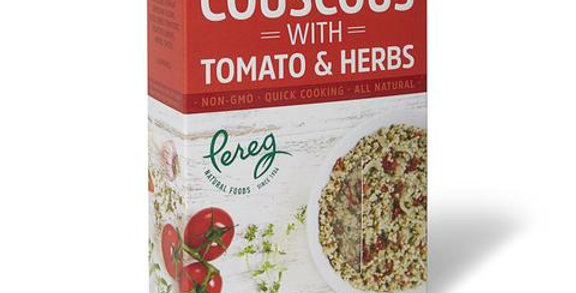 Pereg Couscous with Tomato & Herb