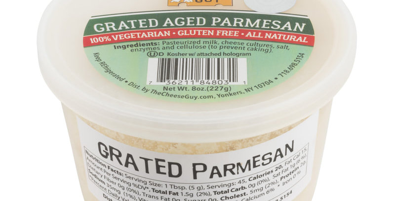 Cheese Guy Grated Aged Parmesan