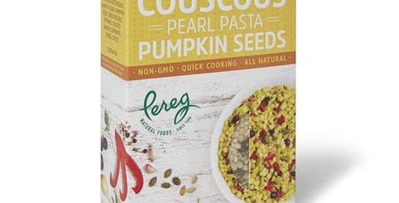 Pereg Couscous Pearl Pasta Pumpkin Seeds