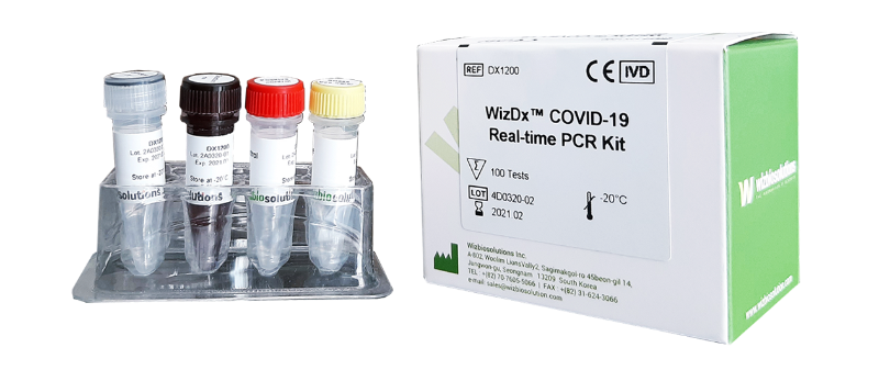 WizDx™ COVID-19 Real-time PCR Kit (CE-IVD)