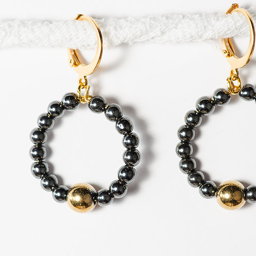 Casey Granite Earrings