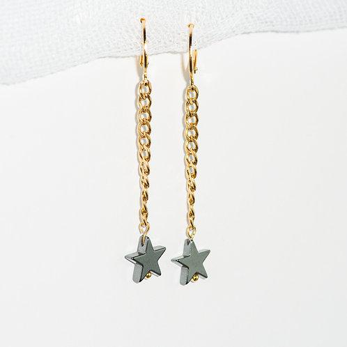 Stardust Chain Earrings