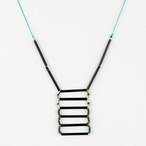 Geometric Rectangle Necklace