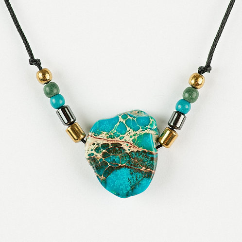 Turquoise Meets Gold