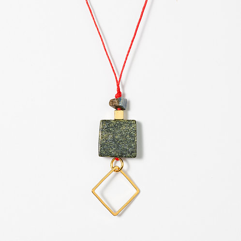 Geo Minimal Pendant Necklace