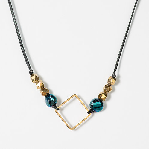 Geometric Metallics Chocker Necklace