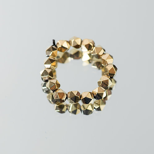 Gold Sparkle Ring
