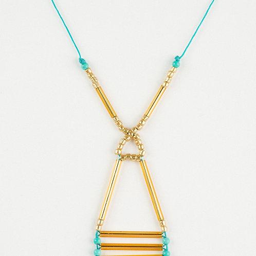 Elegant Golden Pendant