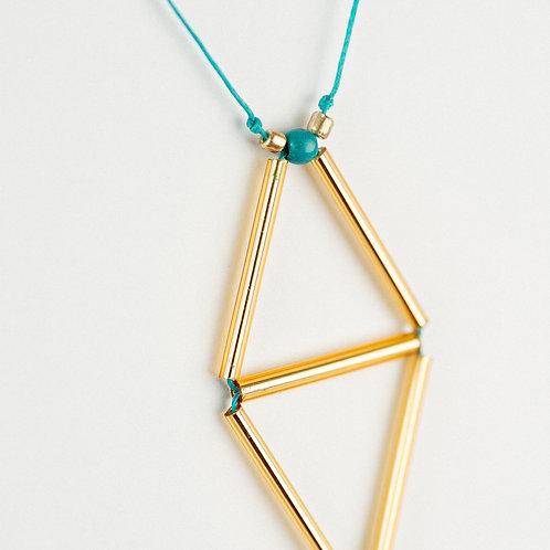 Diamond Triangle Pendant