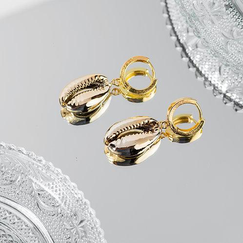 Amorgos Seashell Earrings
