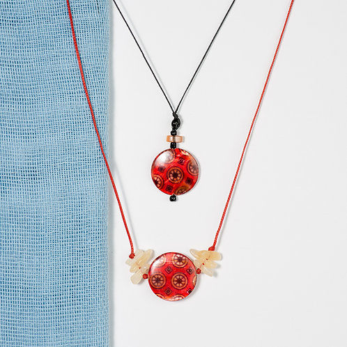 Red Morocco Necklace