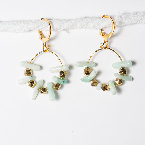 Oh-baby Coral Earrings