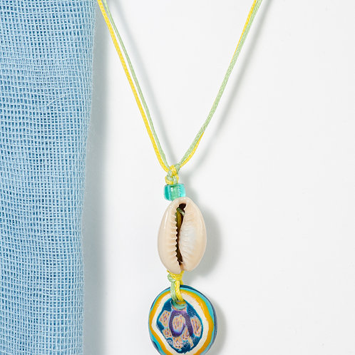 Fimo Colorful Seashell Necklace