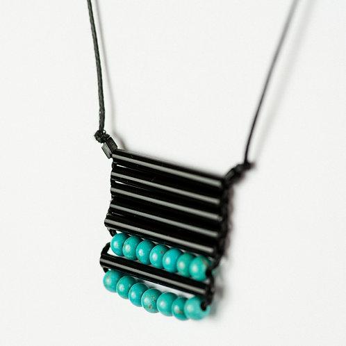 Azure Rain Necklace