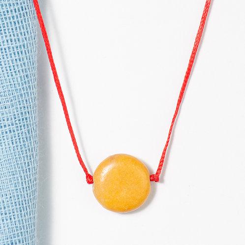 Honey Circle Necklace