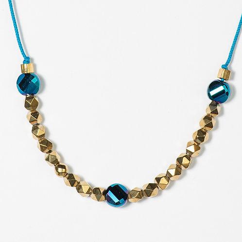 The Golden Metallics necklace