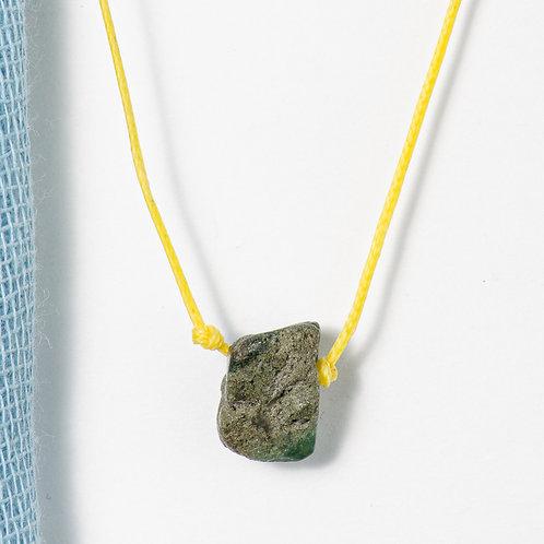 Single Stone Minimal Necklace