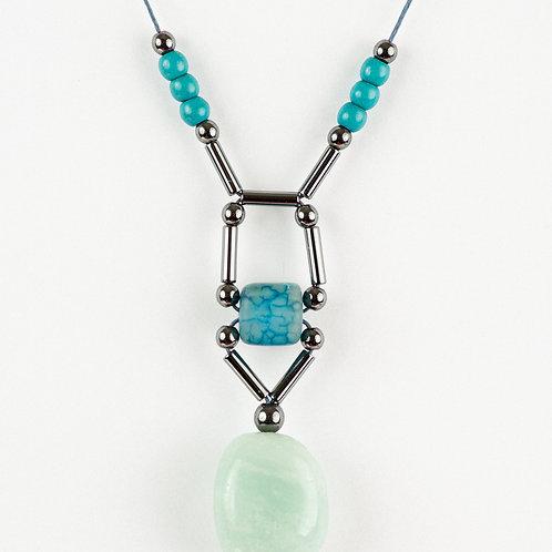 Mint, Blue and Granite