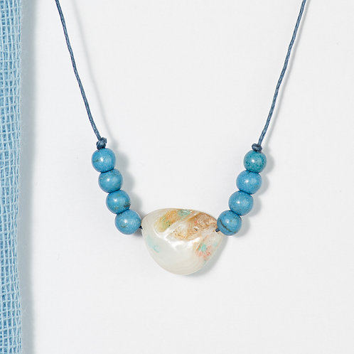 Azzurra Seashell Necklace