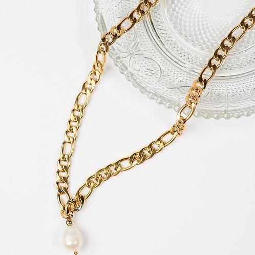 Jane Pearl Gold Chain