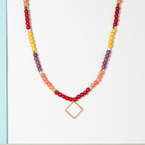 The Sunset Palette Necklace