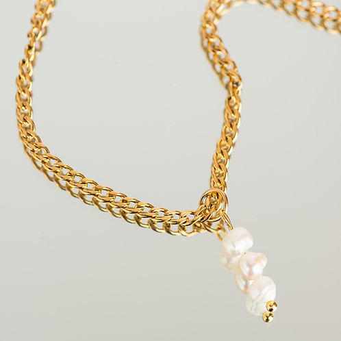 Belinda Pearl Gold Chain