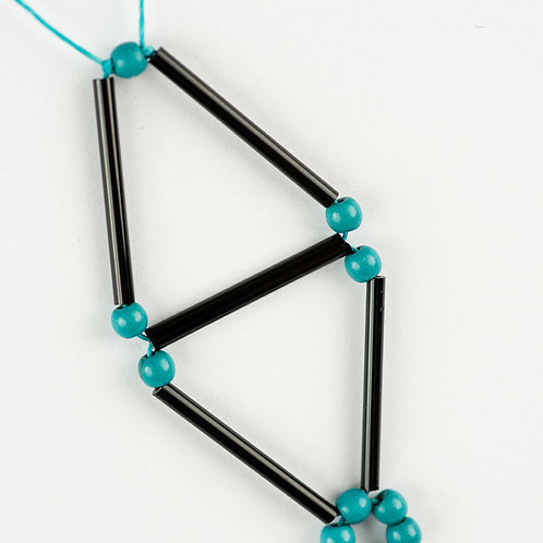 Geometric Glass Necklace