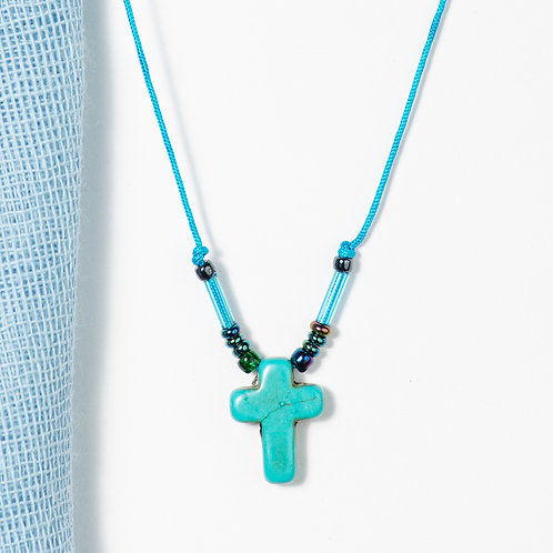 Syros Cross Necklace