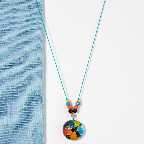 Colorful Fimo Necklace