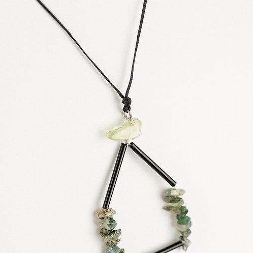 Elegant Prehnite Necklace