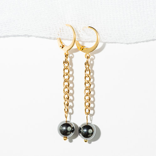 Metallic Elegance Earrings