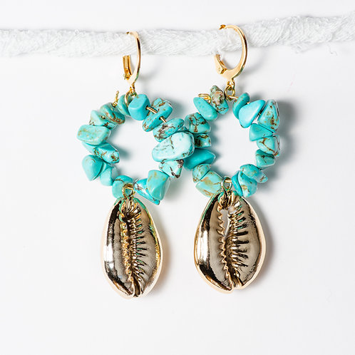 Paros Seashell Earrings