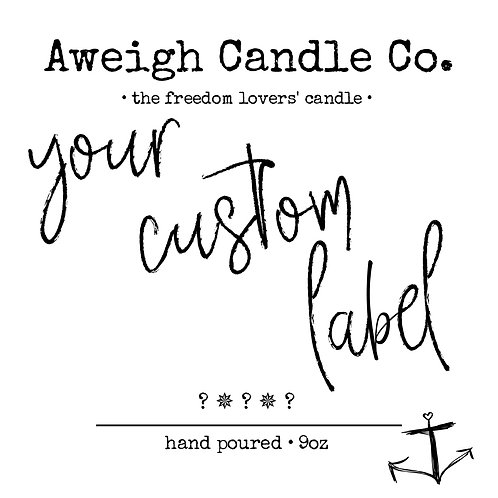 CUSTOM ORDER (6 candle increment)
