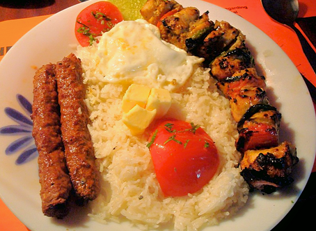 Chelow Kebab: From Iran to Other Worlds