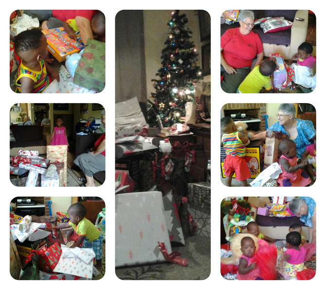 Christmas at Baby Hope House