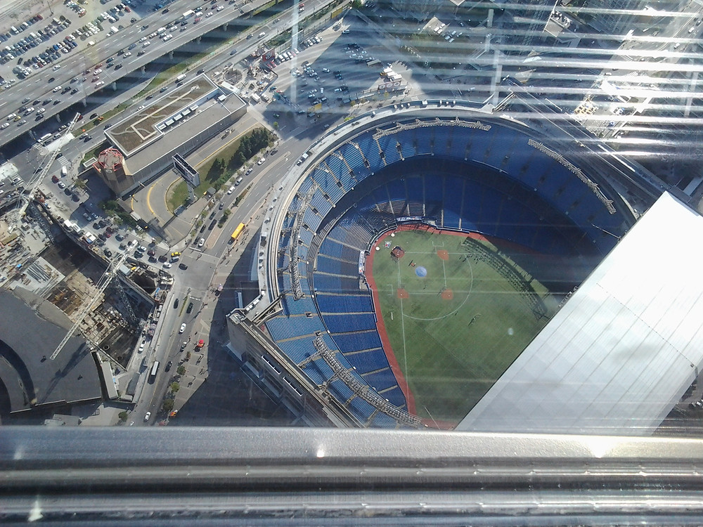 11 View of Blue Jays stadium from CN Tower.jpg