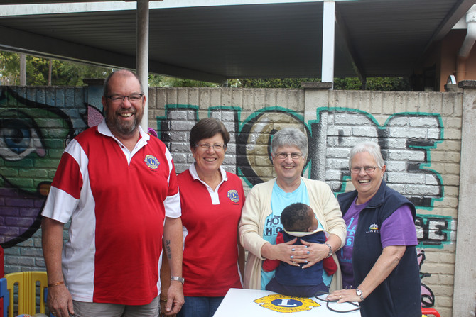 Lions Club of Cowies Hill support Baby Hope House