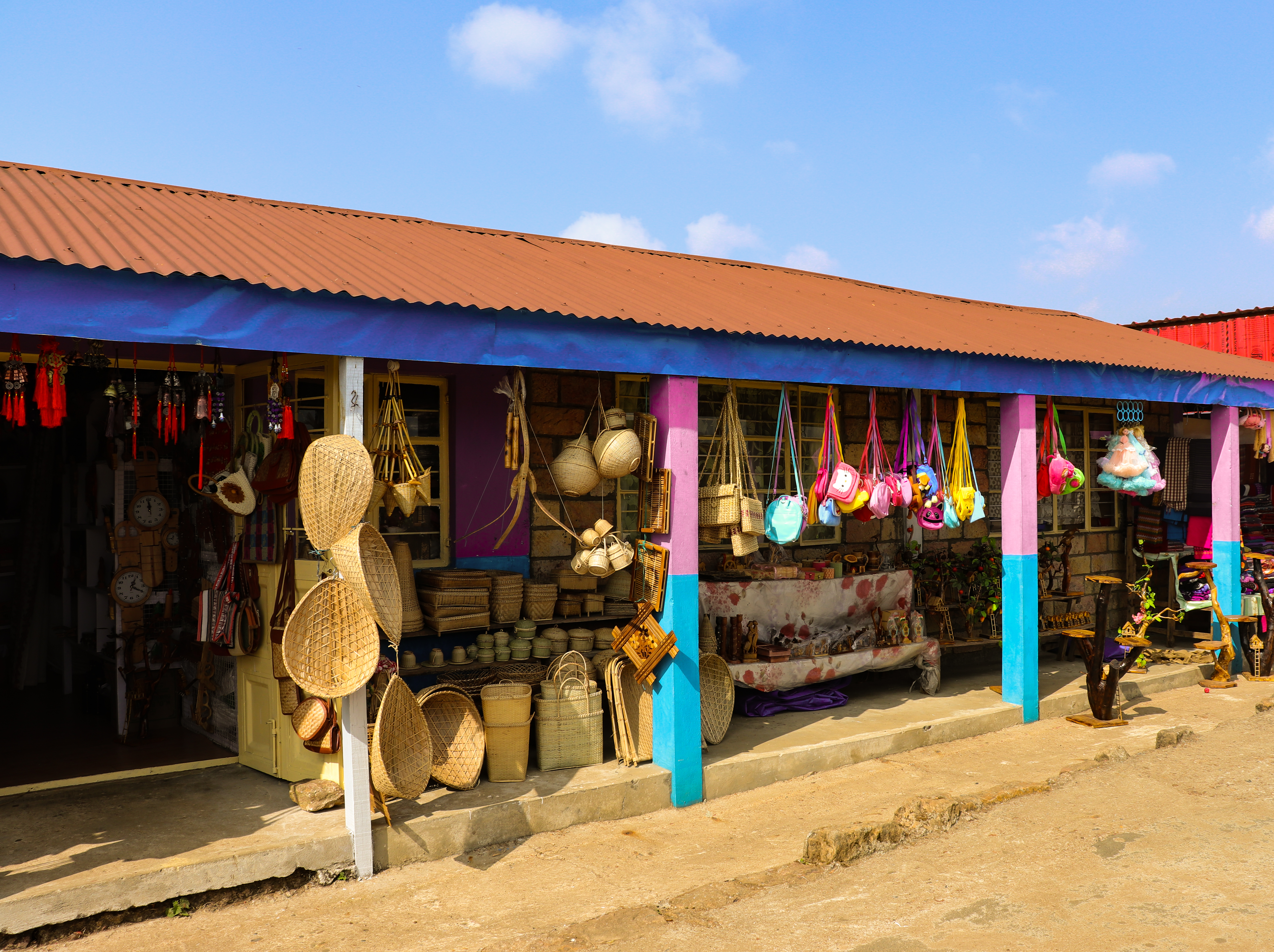 Local Sikkimese shops