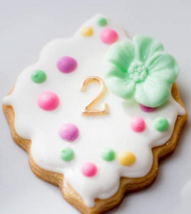 Designer Sugar Cookie- Flodded in royal icing