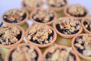 Mini Blueberry Cobbler