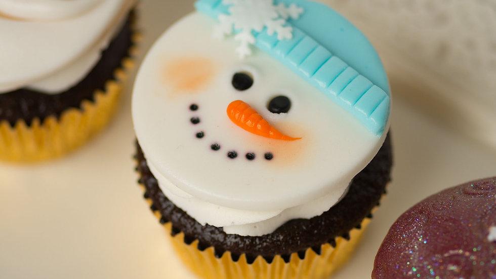 Holiday Cupcake Gift Box