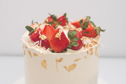 Vegan Buttercream Cake