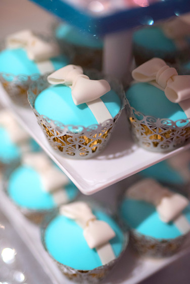 Tiffany & Co. Themed Cupcakes