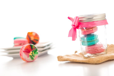 Macaron Gift Jar- Perfect for Gifts & Favors